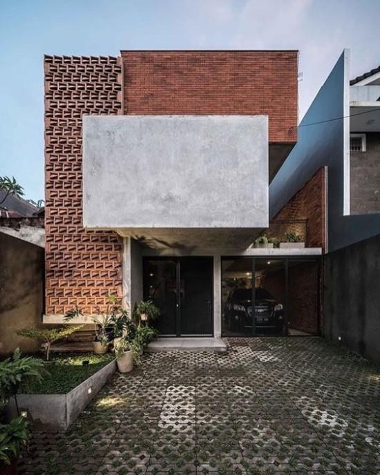 Rumah Minimalis Batu Bata Expose   Ide Rumah Minimalis