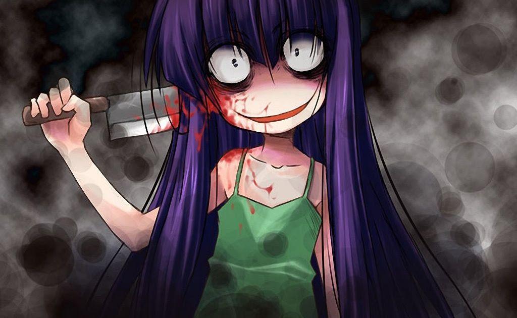 Horror Anime Wallpaper Gambarku