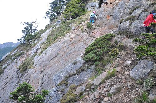 品田前峰斷崖