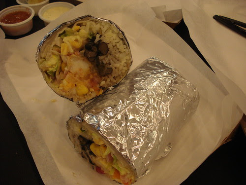 b&t shrimp burrito