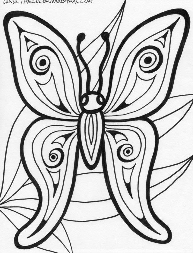 80 Rainforest Butterfly Coloring Pages , Free HD Download