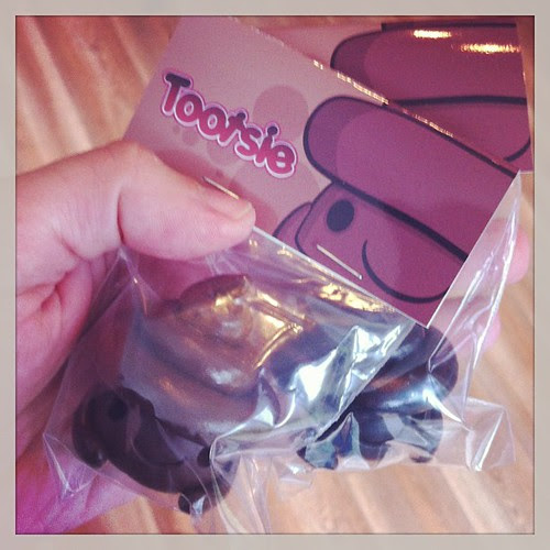 Tootsie is in the UME store head over to www.umetoys.bigcartel.comfor more info. by [rich]