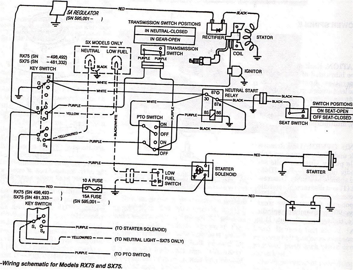 John Deere Lt133 Wiring Diagram - Wiring Site ResourceWiring Site Resource
