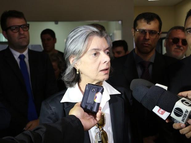 Ministra Carmem Lúcia, presidente do Supremo Tribunal Federal (Foto: Marcelino Neto)
