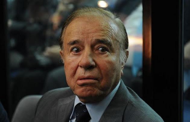 El kirchnerista Beder Herrera levantará una estatua a Menem