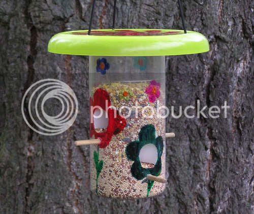 plastic bird house