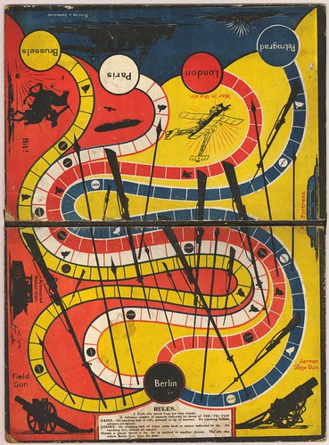 British print - game-board (1940s)