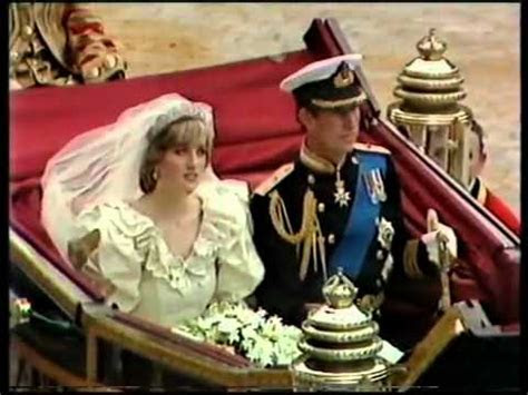 Royal Wedding Ceremony of Charles Diana 8 8   YouTube