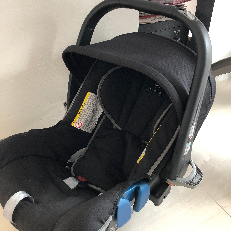 MERCEDES BABY CAR SEAT SENSOR TRANSPONDERS DEACTIVATES FRONT SEAT AIRBAG