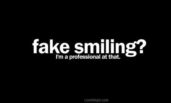 Fake Smiling Pictures Photos And Images For Facebook Tumblr