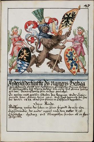 Wappenbuch des Hans Ulrich Fisch i