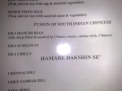 Idly Manchurian - Taking the fusion to a different level
