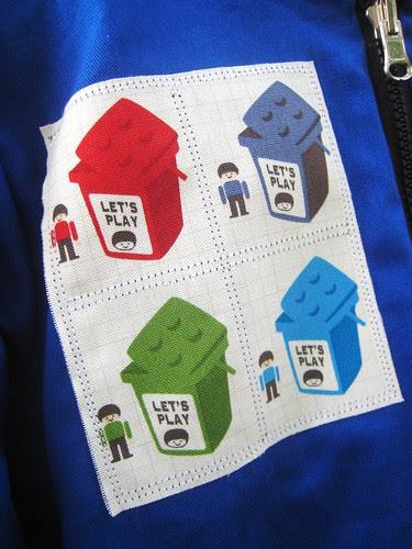 lego hoodie v2 patch
