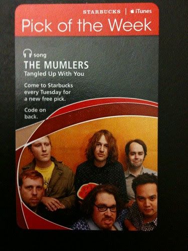 @Starbucks iTunes Pick of the Week - The Mumlers - Tangled Up With You #fb