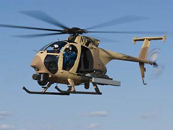 AH-6i. Фото с сайта arabianaerospace.aero