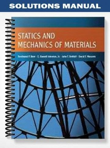 Schaums Outline Of Statics and Mechanics of Materials Chemical ...
