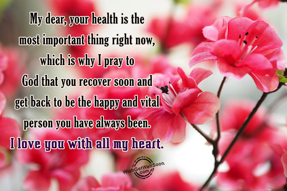 Get Well Soon Wishes For Girlfriend Pictures Images