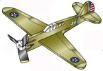 Tomahawk P40-C Weathervane Whirligig Woodworking Plan - fee plans from WoodworkersWorkshop® Online Store - airplane,aeroplane,whirligigs,whirlygigs,weathervanes,full sized patterns,woodworking plans,woodworkers projects,blueprints,drawings,blueprints,how-to-build,MeiselWoodHobby