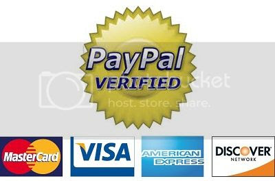 Click HERE! To verify our PayPal Account and ensure your Secure and Instant Payment Processing!