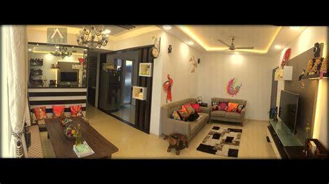 bhk flat interior design   nilesh awate excel
