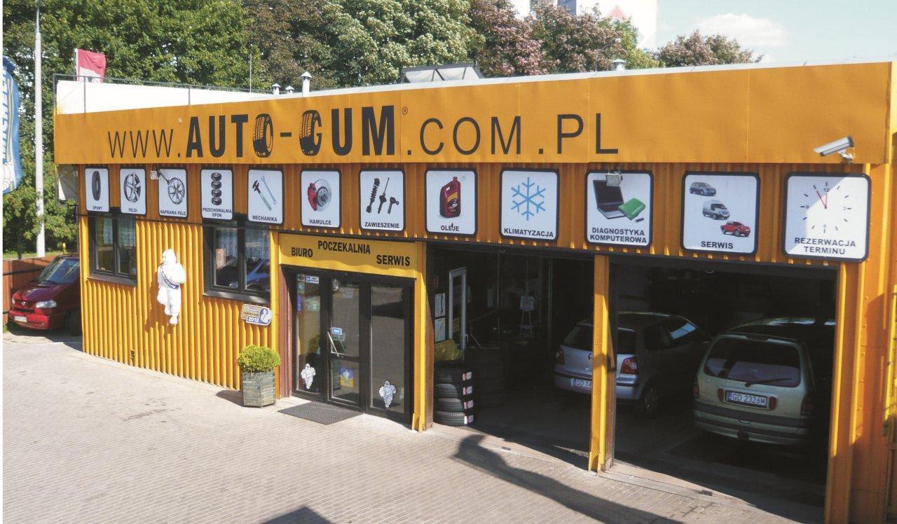 Auto Gum Opony Felgi Geometria Wulkanizacja Opony Wymiana
