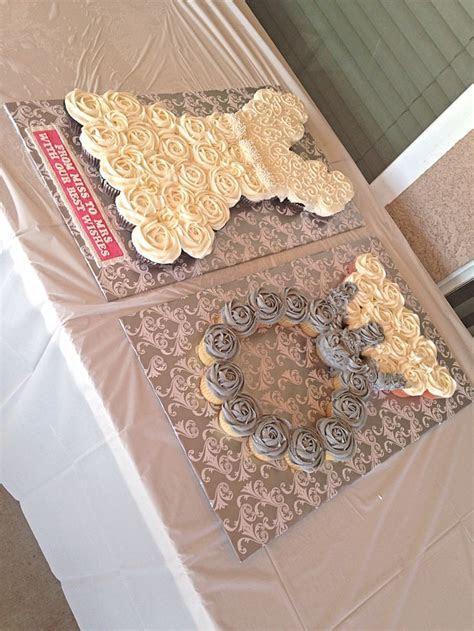 Best 20  Bridal Shower Cupcakes ideas on Pinterest