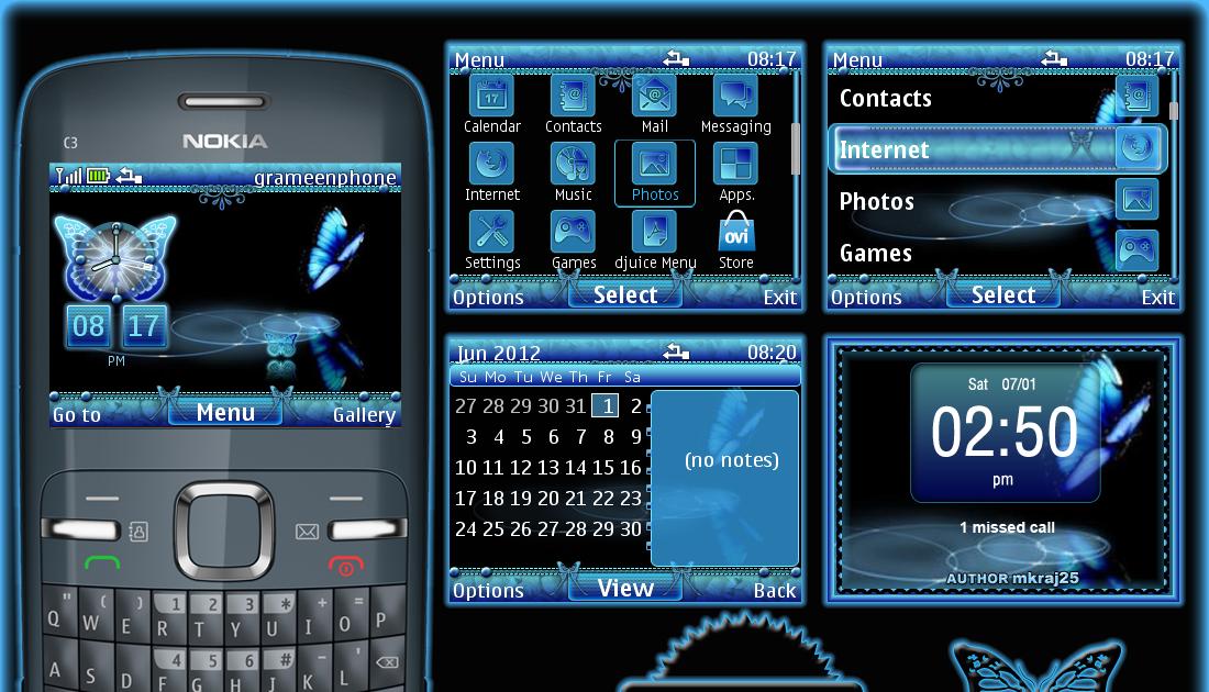 nokia x2 02 new themes free download zedge