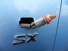 New side indicator bulb
