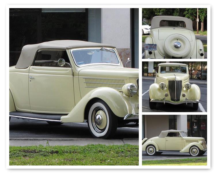 Classic Ford Mosaic