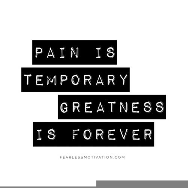 Pain Temporary Quote Free Images At Clkercom Vector Clip Art
