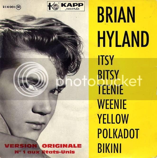 Brian Hyland album cover