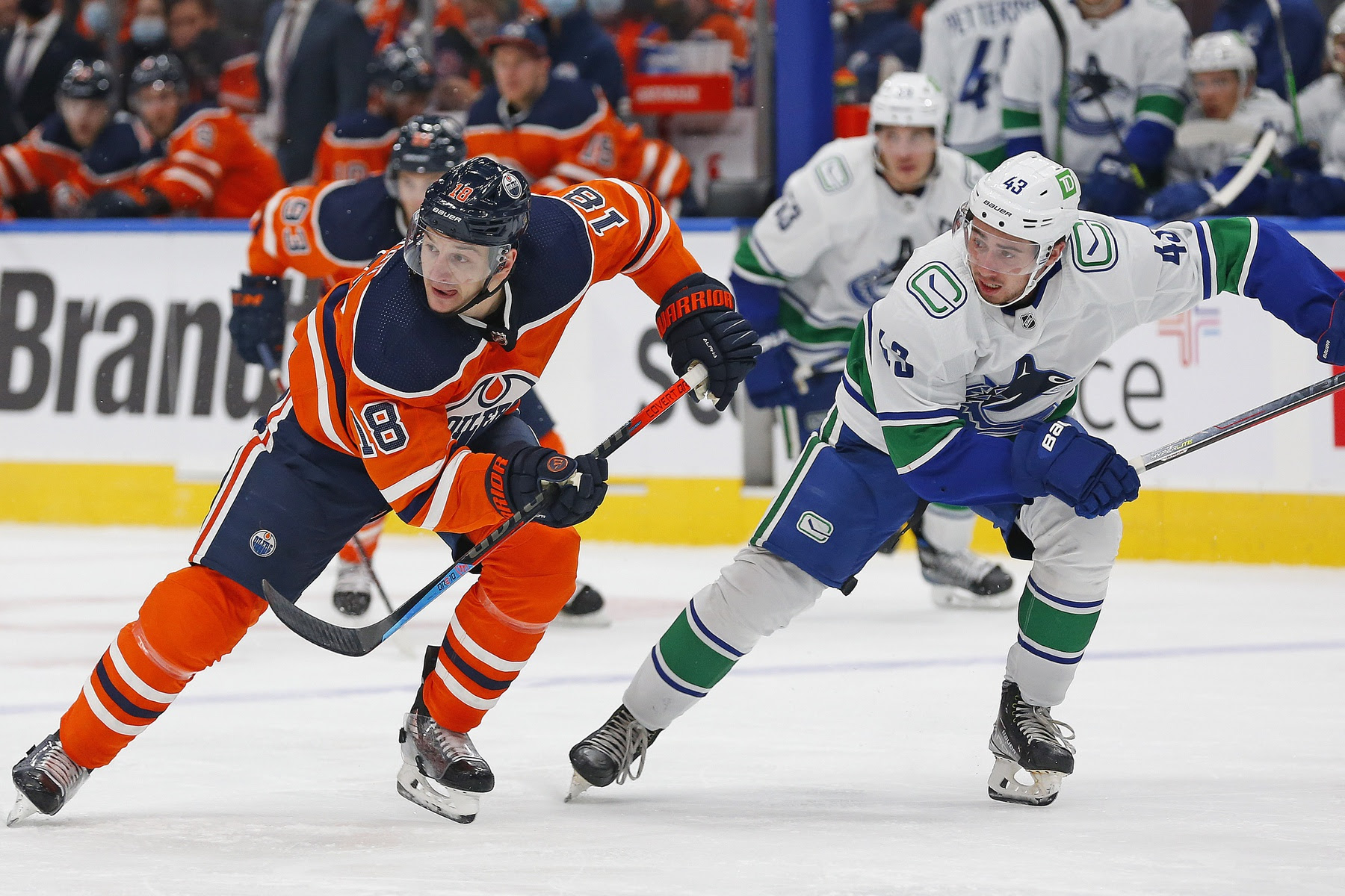 Highlights and Numbers: Oilers outplay Canucks at even-strength, Zach Hyman shines in debut