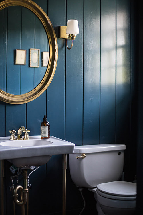 Why Dark Walls Work in Small Spaces - Thou Swell