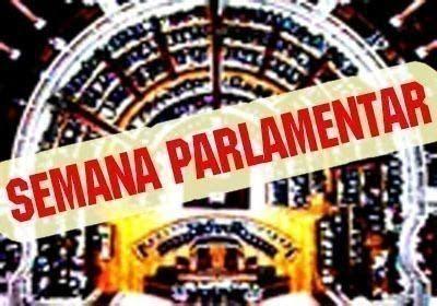 Semana parlamentar por Mariana Aiveca