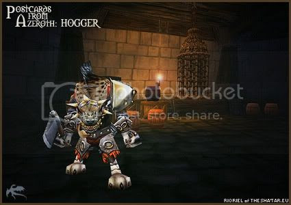 Postcards of Azeroth: Hogger, by Rioriel Ail'thera of theshatar.eu