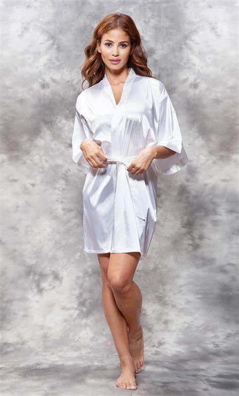 Bridal :: Satin Robes :: Rhinestone Robes :: Bride