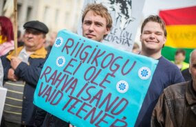 EKRE ei välista suuri meeleavaldusi, kui valitsus osutub põgenike ümberasustamise sundkvootidele järeleandlikuks