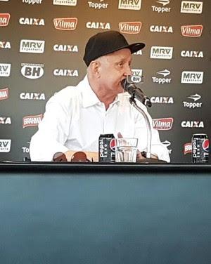 Eduardo Maluf volta a ser ativo nas decisões de futebol do Galo (Foto: Rafael Araújo)