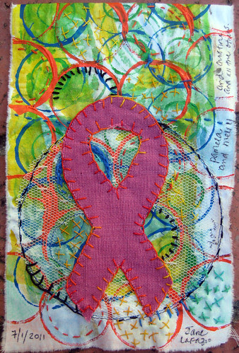 prayer flag: breast cancer