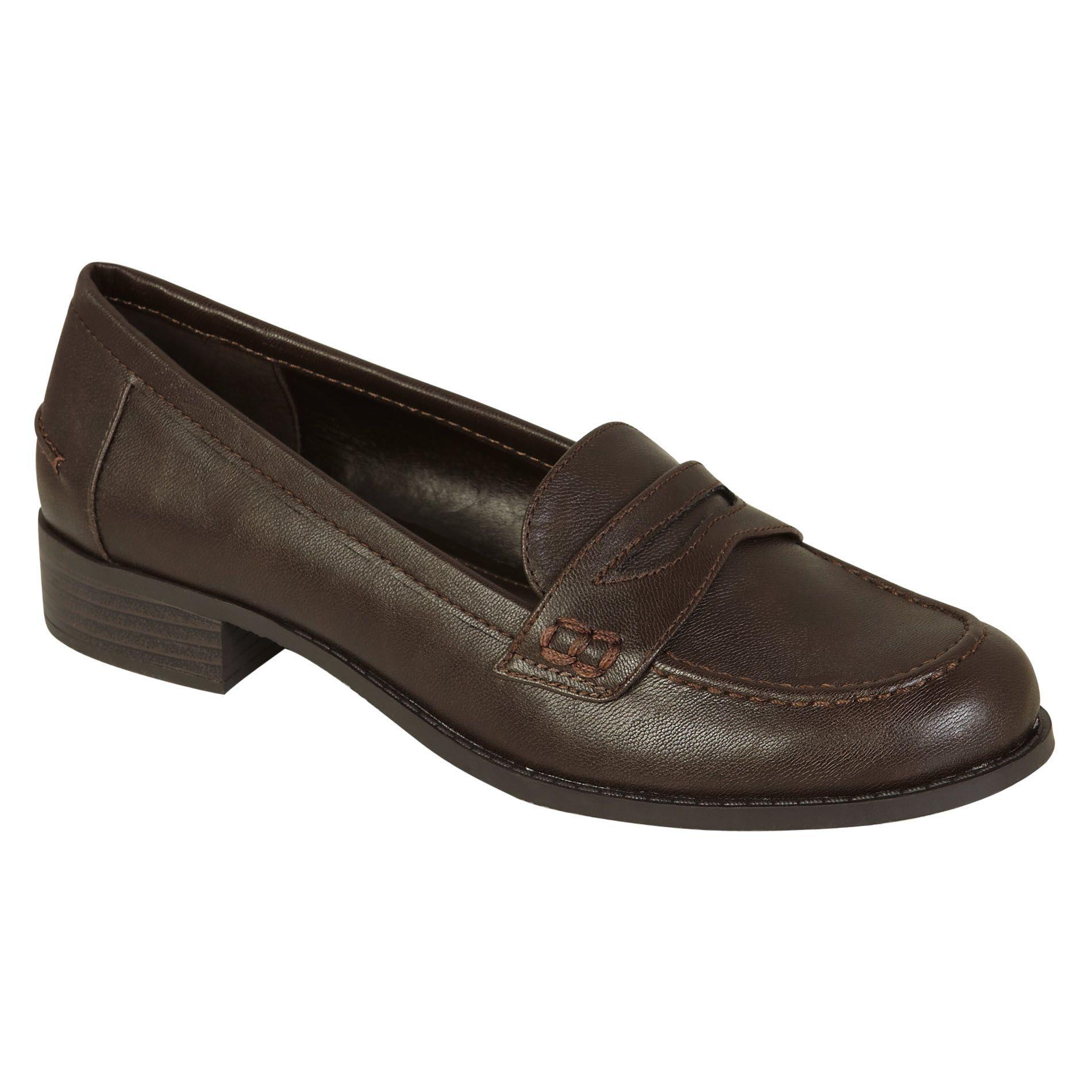 Laura Scott Women's Casual Loafer Dani - Brown - Shoes ...