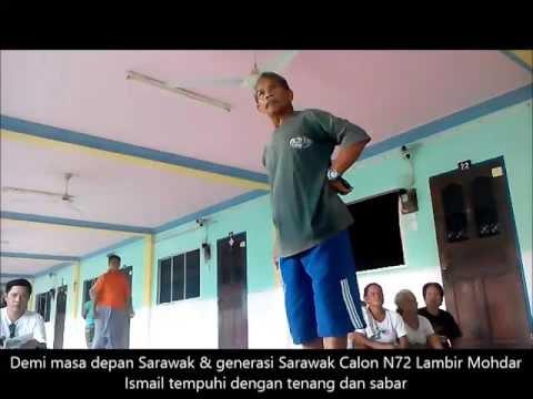 PKR Kena Halau Oleh Tuai Rumah Panjang #PRNSarawak