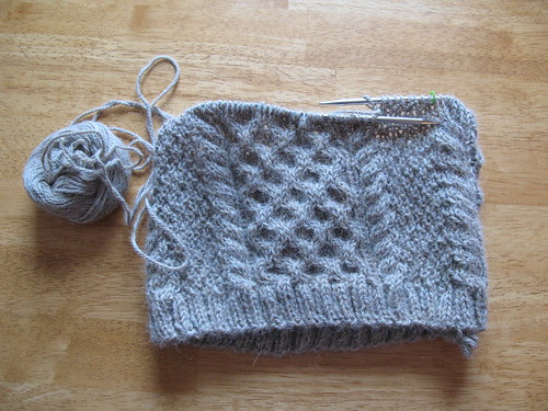 Cabled Cowl.