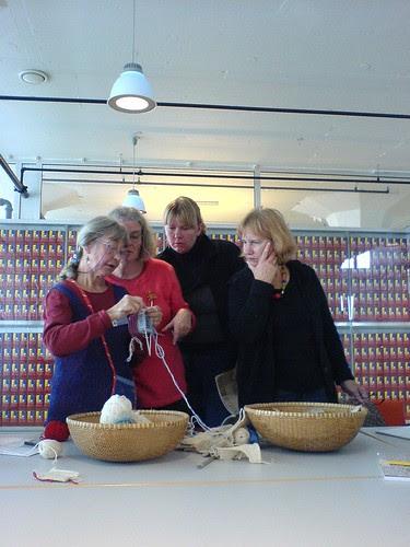 Kerstin Jonsson, workshop Japanese knitting
