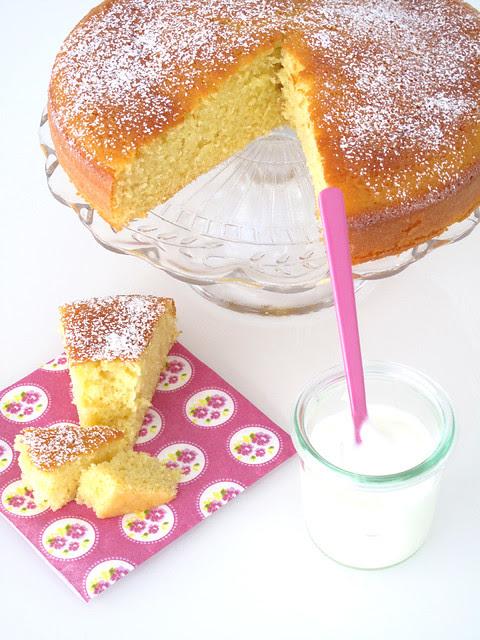 Torta di yogurt e mele 1