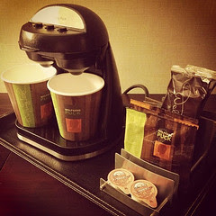 Coffee Stand at Double Tree Hotel