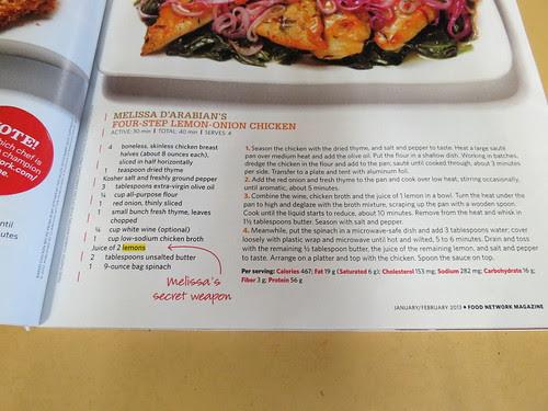 recipe Four Step Lemon Onion Chicken