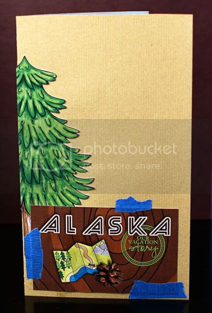 Alaska Travel Journal Cover