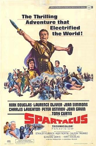 Spartacus 1960 Film Poster