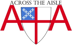 Across the Aisle logo with name