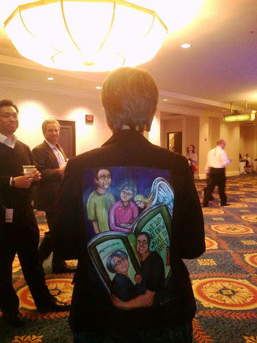 Ileana Balcu in her jacket